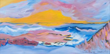 Sunset  by Christina Jarmolinski