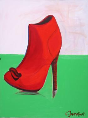 """Red Shoe"" by Christina Jarmolinski"