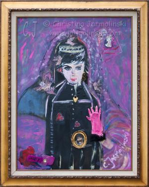 Audrey at Breakfast at Tiffany by Christina Jarmolinski