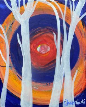 The Silence of the Rising Sun III by Christina Jarmolinski