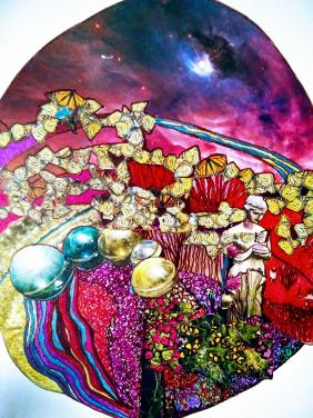 The Butterfly Planet -  Zen Art by Christina Jarmolinski