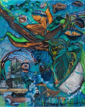 Dreams of Fantasy Flowers by Christina Jarmolinski
