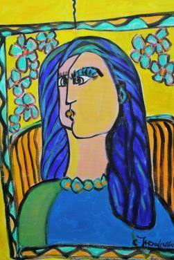 Picasso's Femme by Christina Jarmolinsk