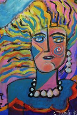 """La Masquarde"" by Christina Jarmolinski"