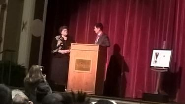 Prime Minister Dr. Lobsang Sangay in Salisbury, MD. and Dr. Janet Dudley- Eshbach